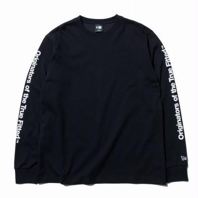 NEWERA L/S PT OTTF BLACK/WHITE