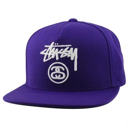 Stussy Stock Lock HO16 Cap Purple