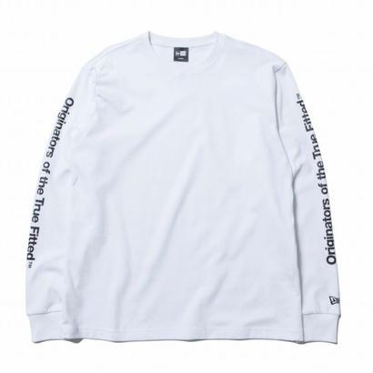 NEWERA L/S PT OTTF WHITE/BLACK