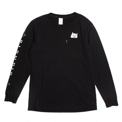 RIPNDIP Lord Nermal Pocket L/S BLACK