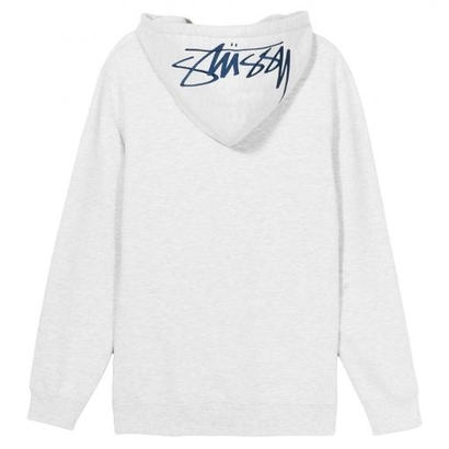 STUSSY Smooth Stock App. Hood HEATHER GRAY
