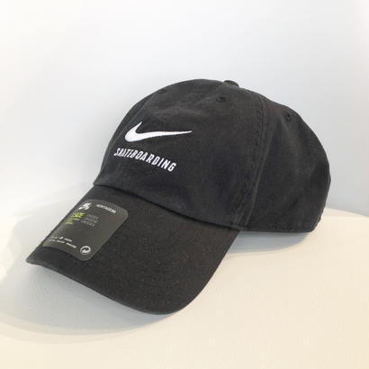 NIKE SB HERITAGE86 TWILL CAP BLACK