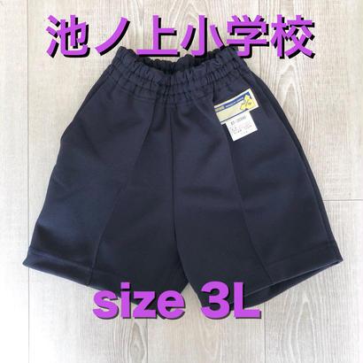 池ノ上小学校体操着(下)ハーフパンツ 3L
