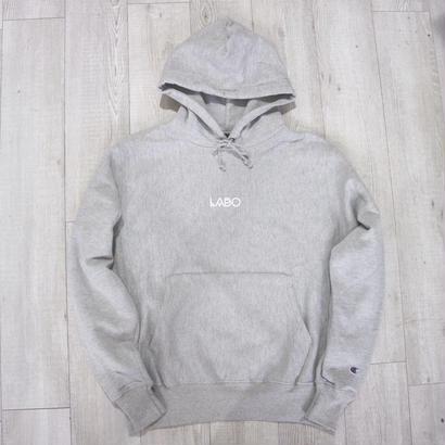 LABO Standard Logo HOODY GRAY