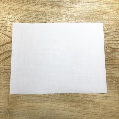 富士中学校体操着用ゼッケン2枚セット(手縫い用)