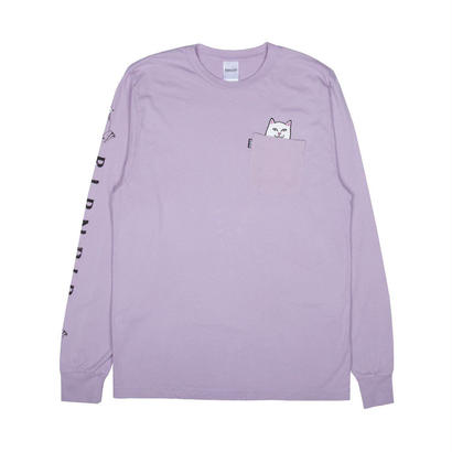 RIPNDIP Lord Nermal Pocket L/S LAVENDER