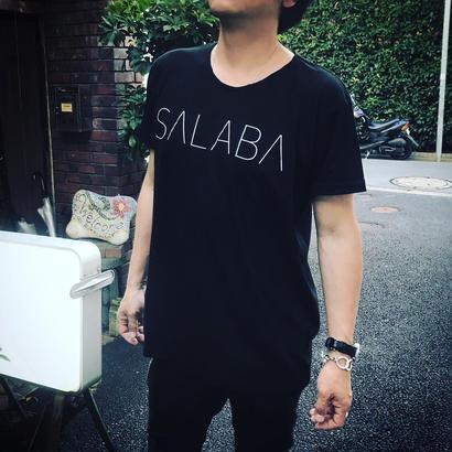 SALABAロゴTシャツ BLACK    online限定