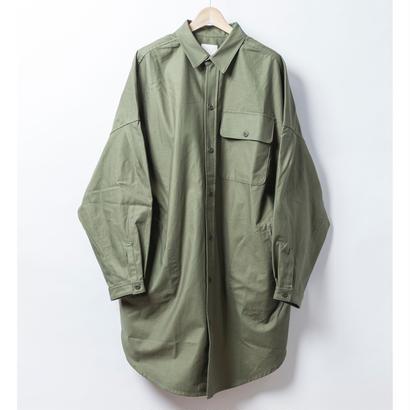 BIGシャツコート KHAKI