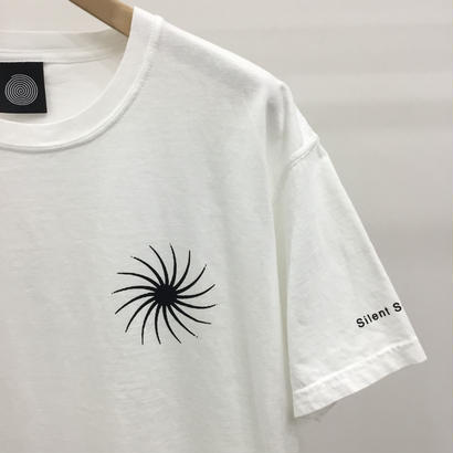 Silent Sound Mini Spiral Tee White