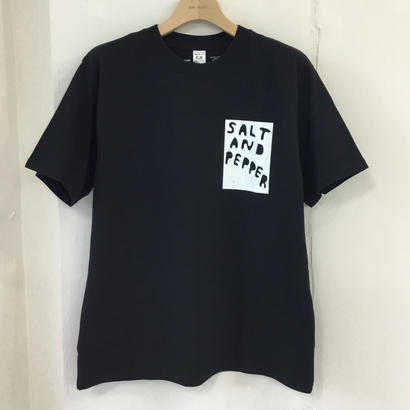 SALT AND PEPPER Tee-1 Black