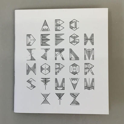 "David M. Cook ""Alphabet Zine"""