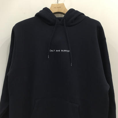 SALT AND PEPPER Hoodie D.Navy