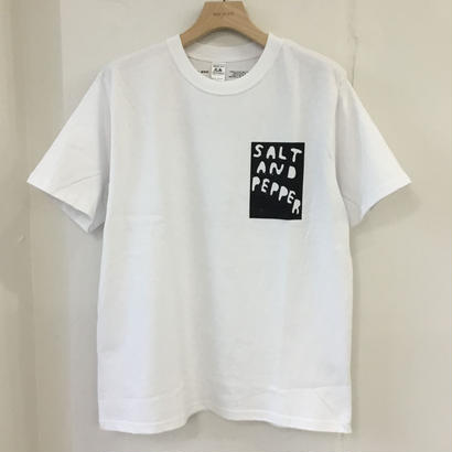 SALT AND PEPPER Tee-1 White