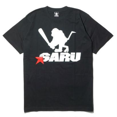 SARU STAR Tee [ブラック]
