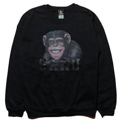 チンパンジーSARUスウェット[BLACK]