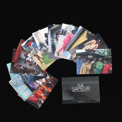 サプール・ポストカード12枚セット・黒