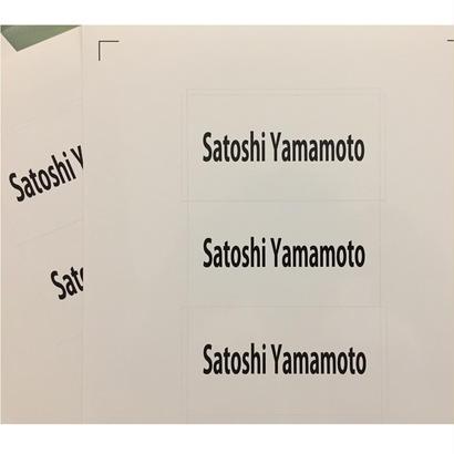 "【2018 -2019AW】ステッカー  vol.2 ""Switching"" 【Satoshi Yamamoto/SY】"