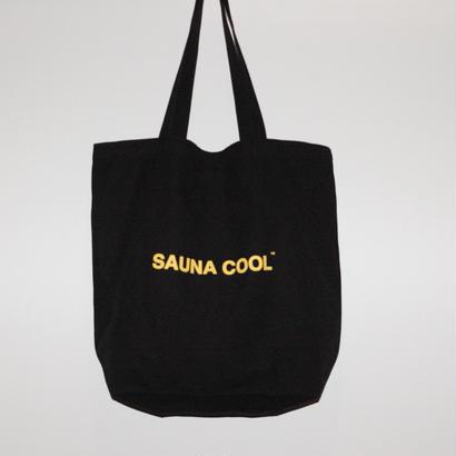 SAUNA COOL ロゴトートバッグ
