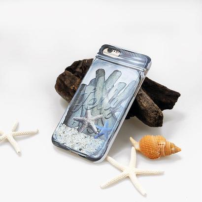 スマホケース ジェリーフィッシュ memoryjar coral ハードケース iPhone7専用