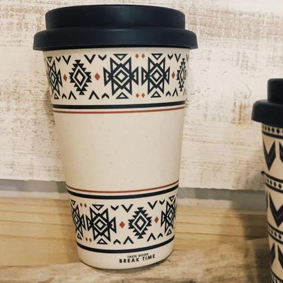 チマヨ柄の手軽なコーヒーカップ