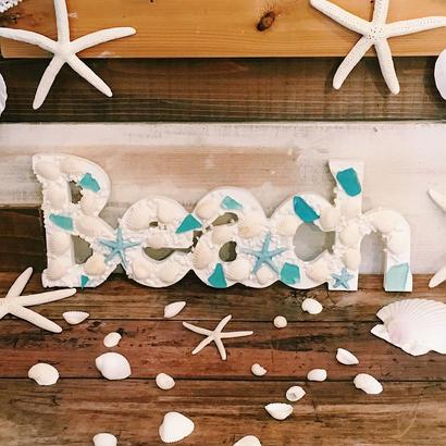 【Sea Code 】BEACH ハンギング シーグラス