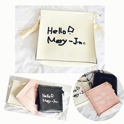 【送料無料】▷◁Hello Mery オシャレバッグ 3カラー