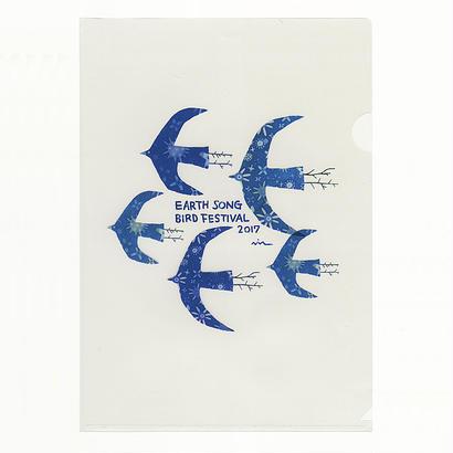 クリアファイル  Earth Bird