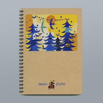 手作りリングノート(A5)B