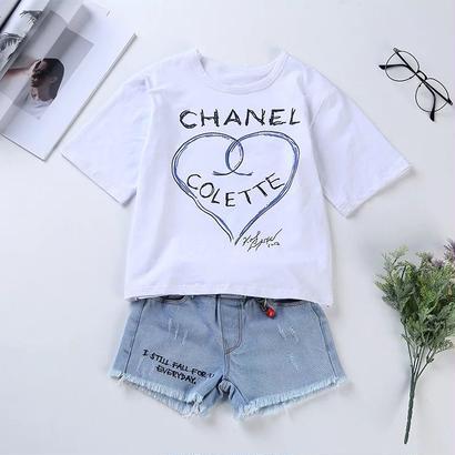 KidsロゴTシャツ