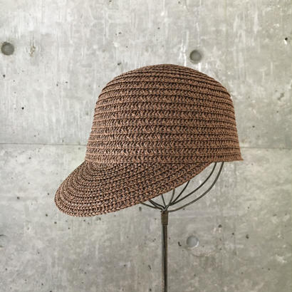 kids  straw cap   brown
