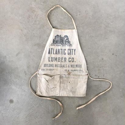 Vintage work apron  04