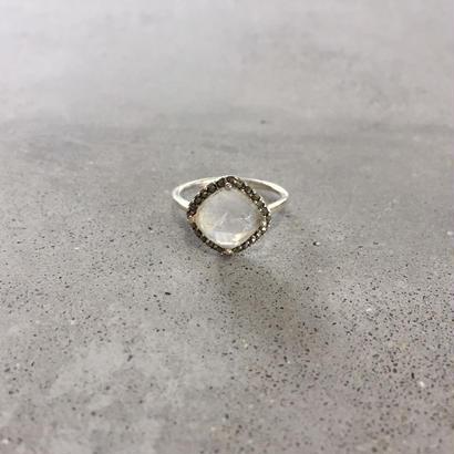 silverring(moonstone)