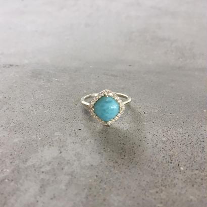 silverring(Larimar)