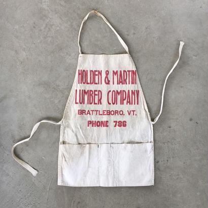Vintage work apron  01