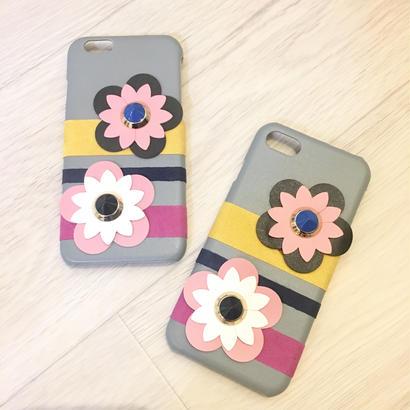 フラワースタッズiphone6.6s iphone7スマホケース