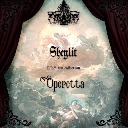"【Sheglit 2018 S/S Collection ""Operetta""】"