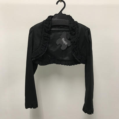 【Sample】アークトゥルスフリルボレロ / ブラック