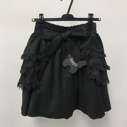 【Sample】フリルカバー付スカート
