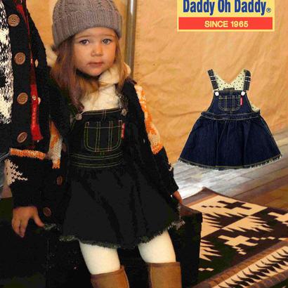 Daddy Oh Daddy  8オンスデニムジャンパースカート