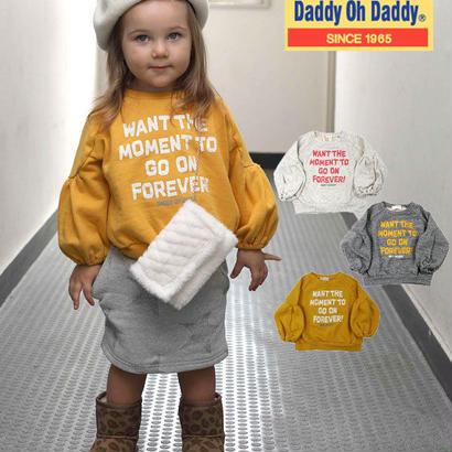 Daddy Oh Daddy / ダディオーダディ ロゴプリント裏毛トレーナー