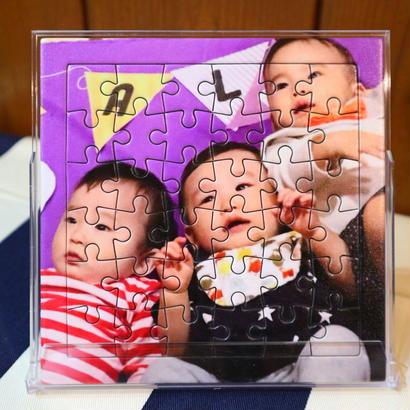 オリジナルフォトパズル CDケースサイズ 《メモリアルグッズ/出産祝い/ギフト/記念品/節句祝い》