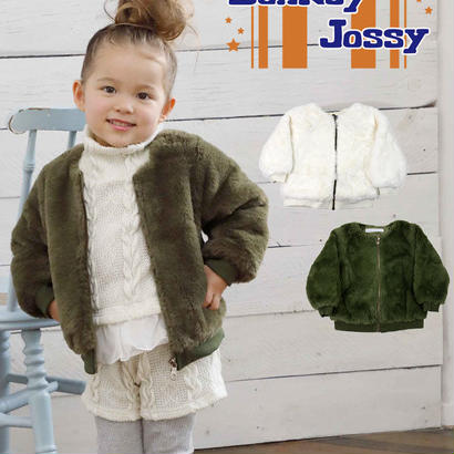 Donkey jossy / ドンキージョシー  ファーブルゾン カーキ 90cm