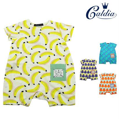 【おすすめ】Caldia / カルディア 涼感加工総柄Tオール ロンパース