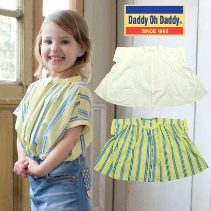 Daddy Oh Daddy / ダディオーダディ ストライプギャザーブラウス