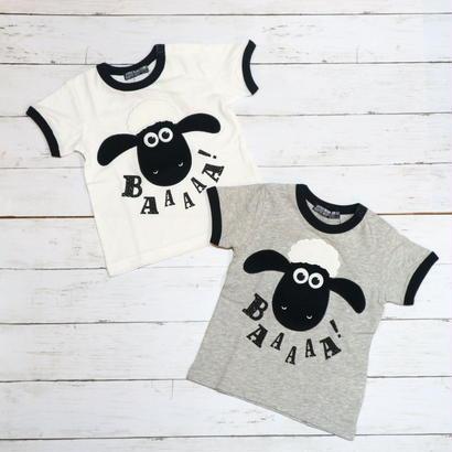 【LITTLE BEAR CLUB】ひつじのショーン モチーフTシャツ 2カラー