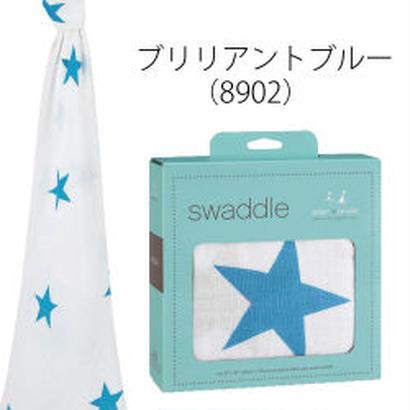 aden+anais / エイデン&アネイ 【日本正規品】 モスリンスワドル brilliant blue