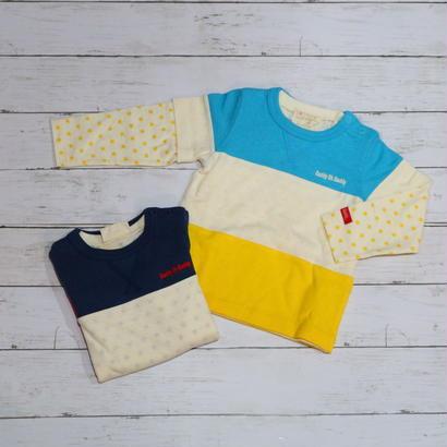 Daddy Oh Daddy/ ダディオーダディ 日本製レイヤードTシャツ