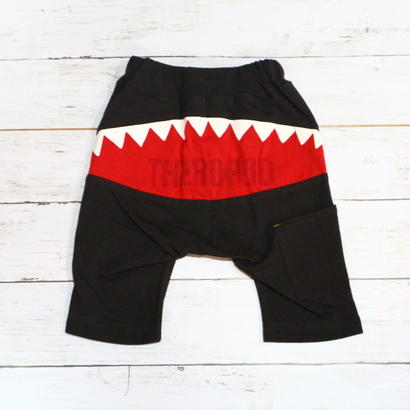 【SALE】KID BOW(キッドボウ) 恐竜 スウェット素材6分丈パンツ 80cm