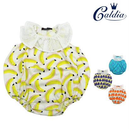 【おすすめ】Caldia / カルディア 涼感加工総柄まんまるオール ロンパース