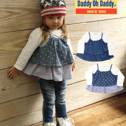 Daddy  Oh Daddy  長袖Tシャツ・デニムキャミソールset